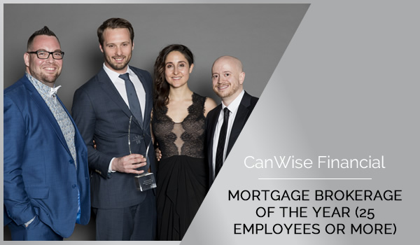 canadian mortgage award featured winner CanWise