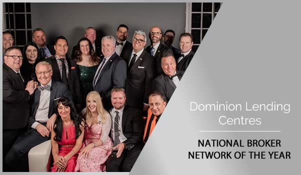 canadian mortgage award featured winner dominion Lending centres