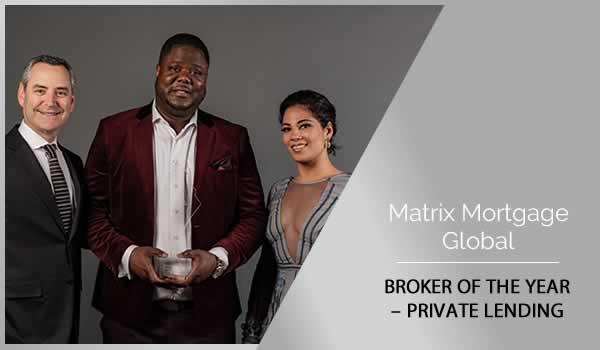canadian mortgage award featured winner matrix mortgage global