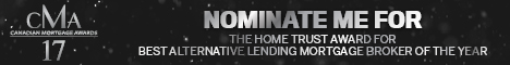 CMA17 Nominate Me Best Alternative Lending Mortgage Broker of the Year
