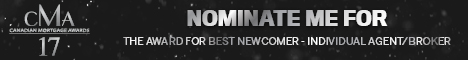 CMA17 Nominate Me Best Newcomer Individual AgentBroker